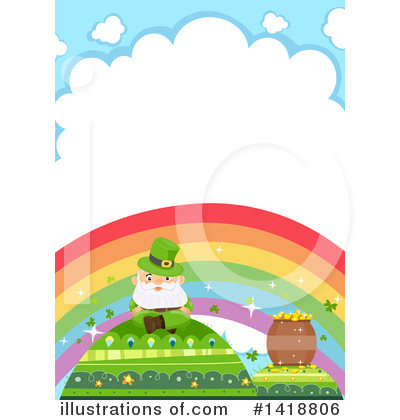 Royalty-Free (RF) St Patricks Day Clipart Illustration by BNP Design Studio - Stock Sample #1418806