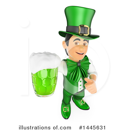 Royalty-Free (RF) St Patricks Day Clipart Illustration by Texelart - Stock Sample #1445631