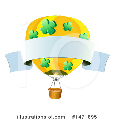 Hot Air Balloon Clipart #1471895 by Graphics RF