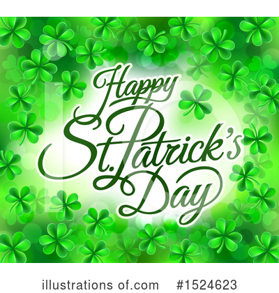St Patricks Day Clipart #1524623 by AtStockIllustration