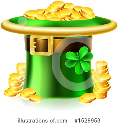 Royalty-Free (RF) St Patricks Day Clipart Illustration by AtStockIllustration - Stock Sample #1528953