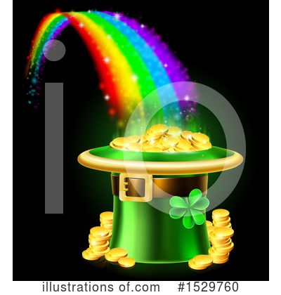 Leprechaun Clipart #1529760 by AtStockIllustration