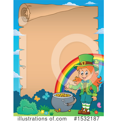Leprechaun Clipart #1532187 by visekart