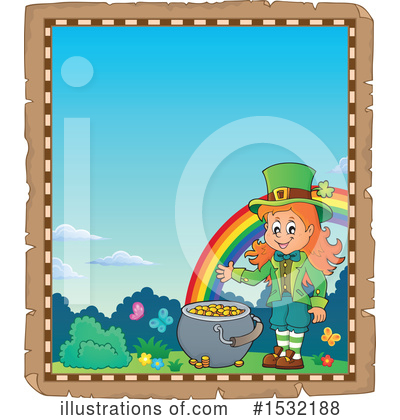 Leprechaun Clipart #1532188 by visekart