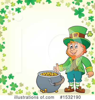 Leprechaun Clipart #1532190 by visekart