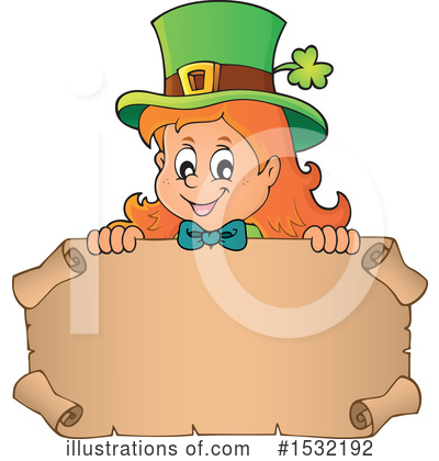Leprechaun Clipart #1532192 by visekart