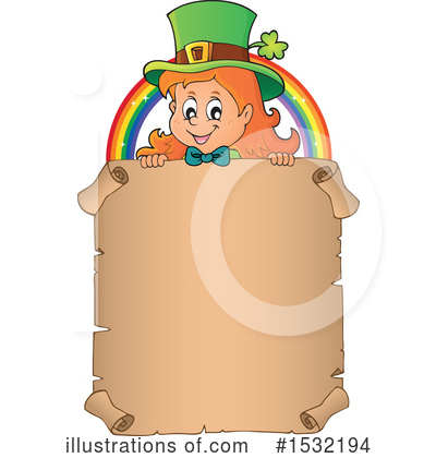 Leprechaun Clipart #1532194 by visekart