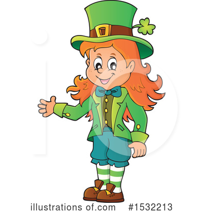 Royalty-Free (RF) St Patricks Day Clipart Illustration by visekart - Stock Sample #1532213