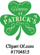 St Patricks Day Clipart #1704815 by Vector Tradition SM