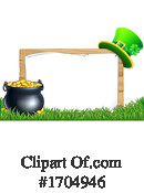 St Patricks Day Clipart #1704946 by AtStockIllustration