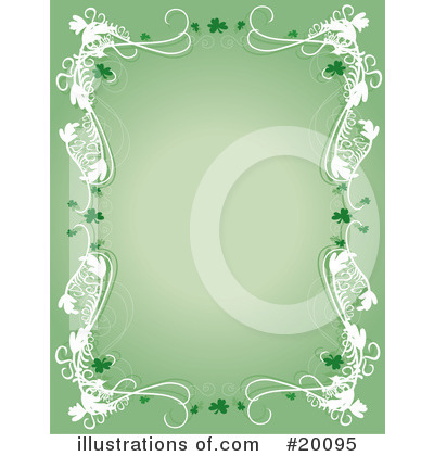 Royalty-Free (RF) St Patricks Day Clipart Illustration by Maria Bell - Stock Sample #20095