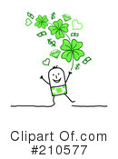 Royalty-Free (RF) St Patricks Day Clipart Illustration #210577