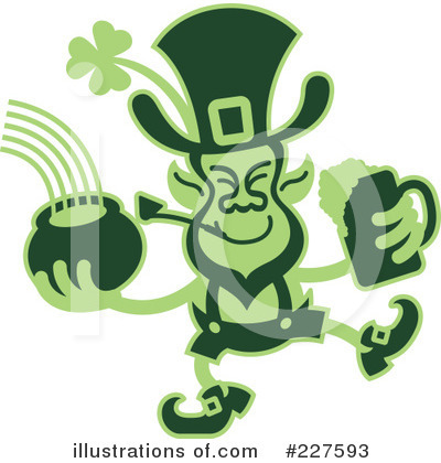Leprechaun Clipart #227593 by Zooco