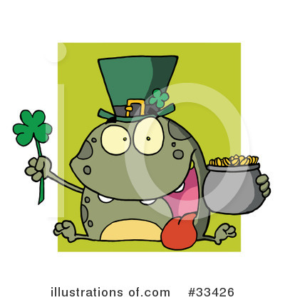 Royalty-Free (RF) St Patricks Day Clipart Illustration by Hit Toon - Stock Sample #33426