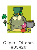 Royalty-Free (RF) St Patricks Day Clipart Illustration #33426