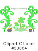 Royalty-Free (RF) St Patricks Day Clipart Illustration #33864