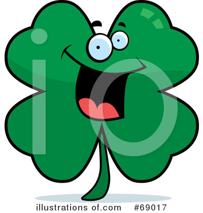 Four Leaf Clover Clipart #69017 by Cory Thoman