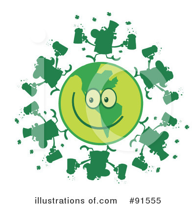 St Patricks Day Clipart #91555 by Hit Toon