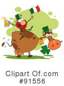 Royalty-Free (RF) st patricks day Clipart Illustration #91556
