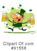 Royalty-Free (RF) st patricks day Clipart Illustration #91558