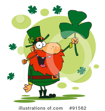 Royalty-Free (RF) St Patricks Day Clipart Illustration by Hit Toon - Stock Sample #91562