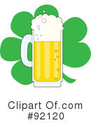 Royalty-Free (RF) St Patricks Day Clipart Illustration #92120