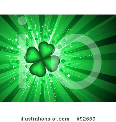 Royalty-Free (RF) St Patricks Day Clipart Illustration by KJ Pargeter - Stock Sample #92659