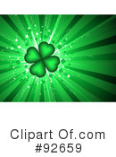 Royalty-Free (RF) St Patricks Day Clipart Illustration #92659