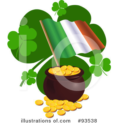 Pot Of Gold Clipart #93538 by Pushkin