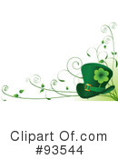 Royalty-Free (RF) St Patricks Day Clipart Illustration #93544