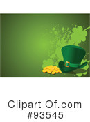 Royalty-Free (RF) St Patricks Day Clipart Illustration #93545