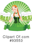 Royalty-Free (RF) St Patricks Day Clipart Illustration #93553