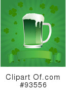 Royalty-Free (RF) St Patricks Day Clipart Illustration #93556