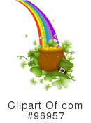 Royalty-Free (RF) St Patricks Day Clipart Illustration #96957