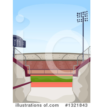 Track And Field Clipart #1321843 by BNP Design Studio