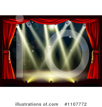Stage Clipart #1107772 by AtStockIllustration