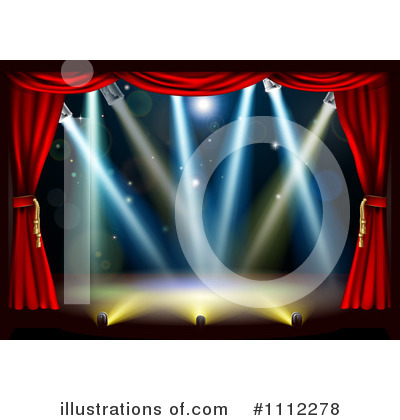 Theater Clipart #1112278 by AtStockIllustration