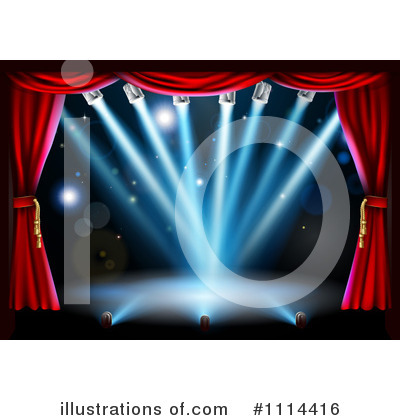 Theater Clipart #1114416 by AtStockIllustration