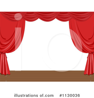 Drapes Clipart #1130036 by Graphics RF