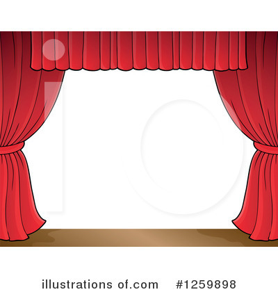 Drapes Clipart #1259898 by visekart