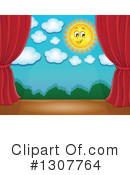 Stage Clipart #1307764 by visekart