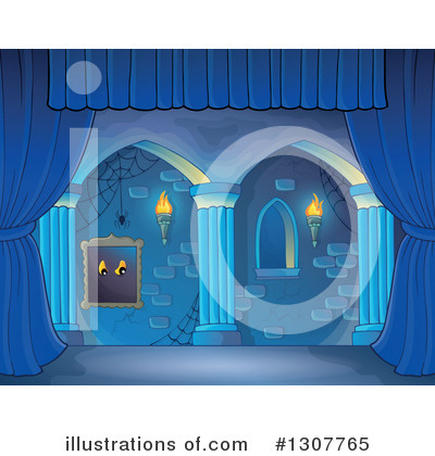 Haunted Hallway Clipart #1307765 by visekart