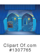 Royalty-Free (RF) Stage Clipart Illustration #1307765
