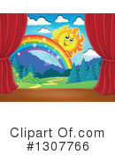 Stage Clipart #1307766 by visekart