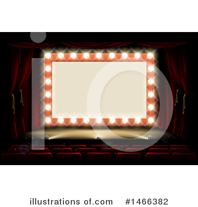 Stage Clipart #1466382 by AtStockIllustration