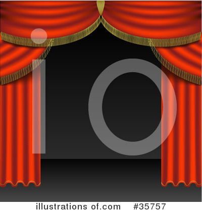 Curtains Clipart #35757 by dero