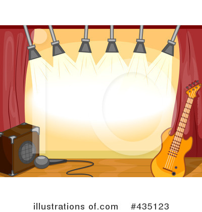 Concert Clipart #435123 by BNP Design Studio