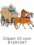 Stagecoach Clipart #1291347 by patrimonio