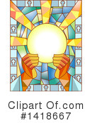 Stained Glass Clipart #1418667