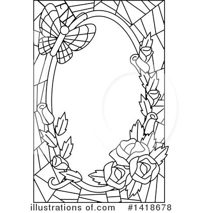 Stained Glass Clipart #1418678 by BNP Design Studio
